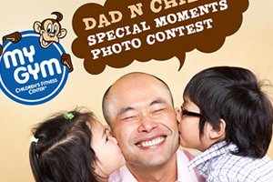 MyGym Singapore Dad n Child Photo Contest